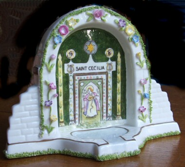 Coalport model Well Dressing