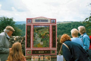 Well Dressing at Over Haddon, 2004