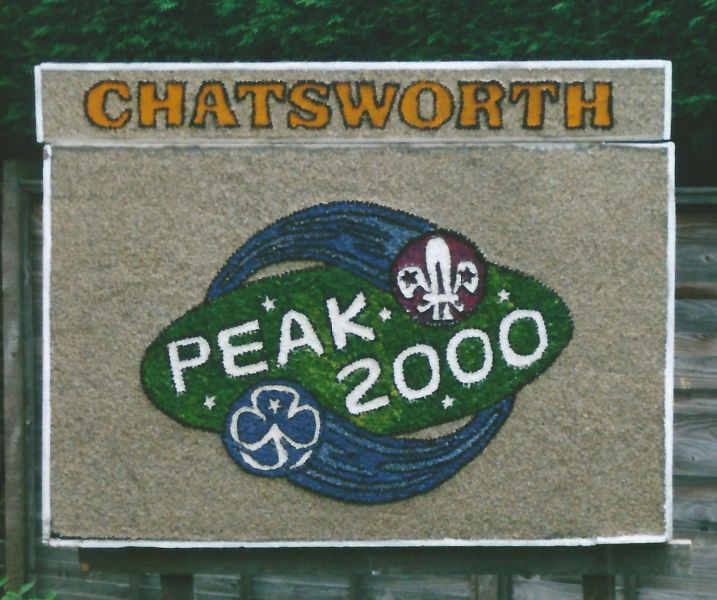 Etwall 2000 - Scouts Well Dressing