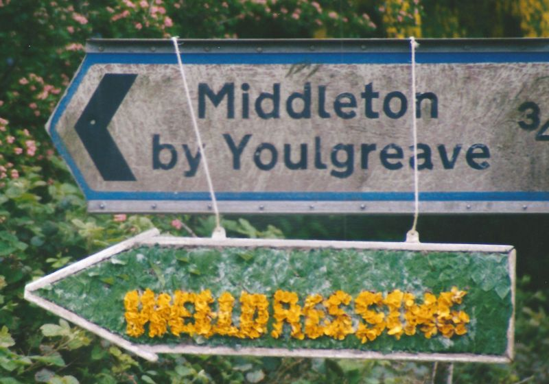 Middleton by Youlgrave 2000 - Fingerboard, east of village