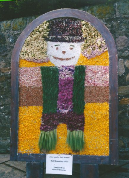 Wirksworth 2000 - Alderwasley Hall School Well Dressing