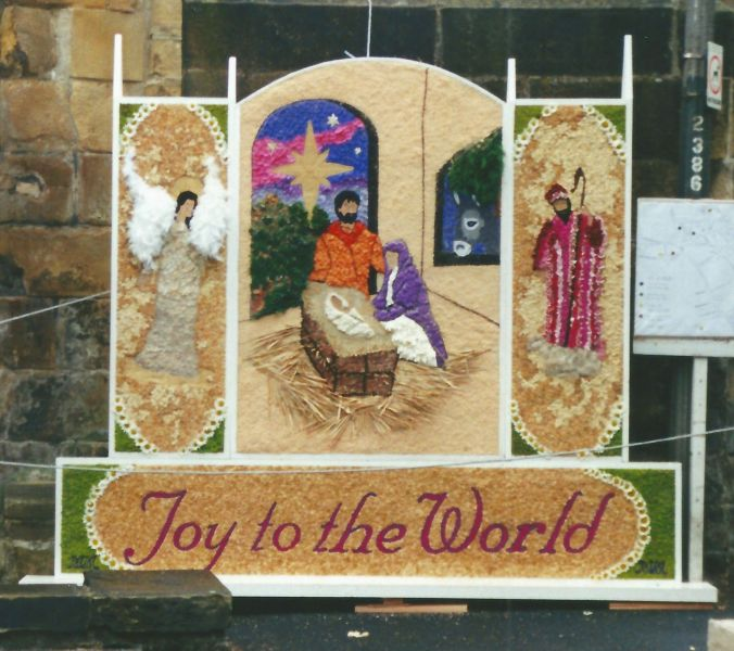 Bakewell 2000 - Butter Market Well Dressing