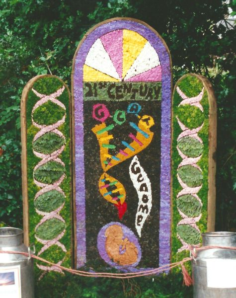 Rowsley 2000 - Primary School Well Dressing