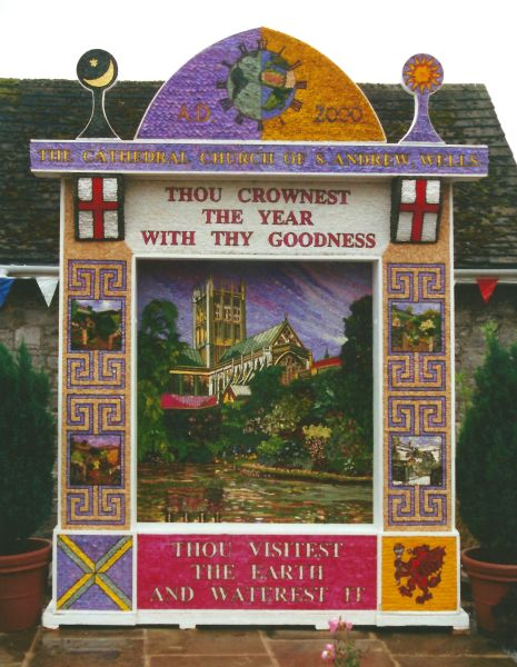 Tideswell 2000 - Village Well Dressing