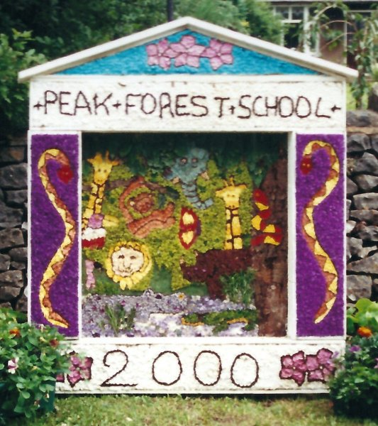 Peak Forest 2000 - Old Dam Well Dressing
