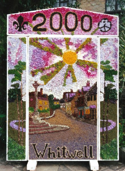 Whitwell 2000 - Village Square Well Dressing