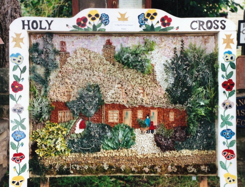 Upper Langwith 2000 - Vicarage Well Dressing