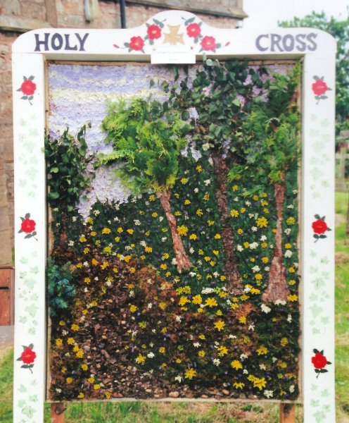 Upper Langwith 2000 - Holy Cross Church Well Dressing