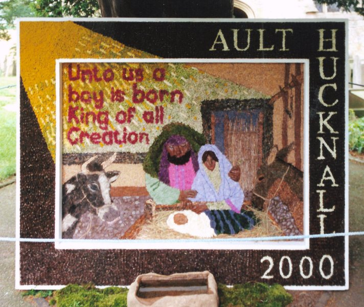 Ault Hucknall 2000 - Church Well Dressing