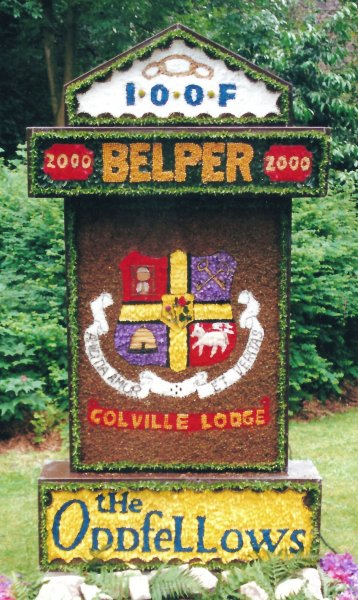 Belper 2000 - Oddfellows Well Dressing