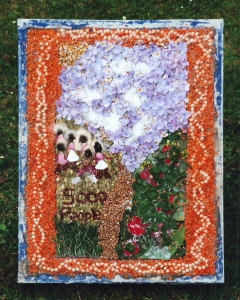 Belper 2000 - St John's CofE Primary School Well Dressing (2)