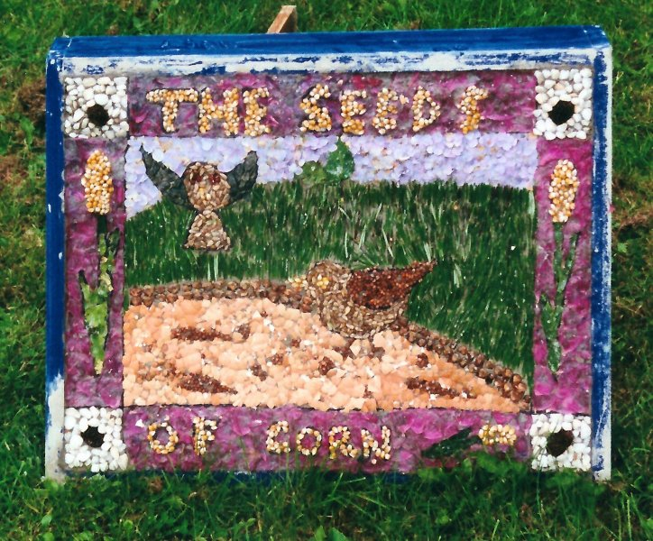 Belper 2000 - St John's CofE Primary School Well Dressing (3)