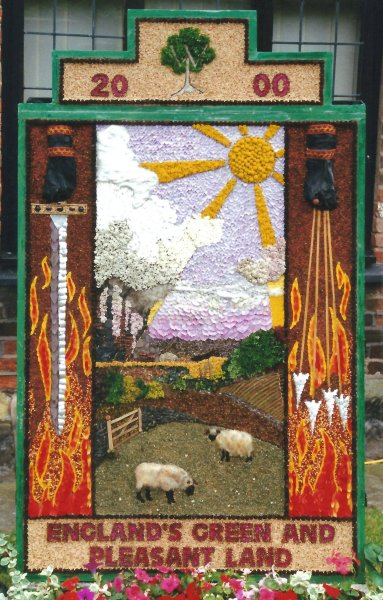Aston-upon-Trent 2000 - Women's Institute Well Dressing