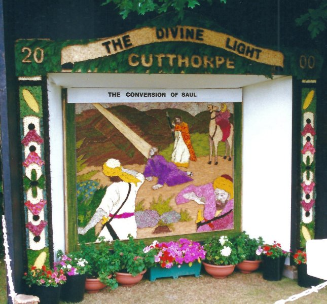 Cutthorpe 2000 - Vicarage Well Dressing