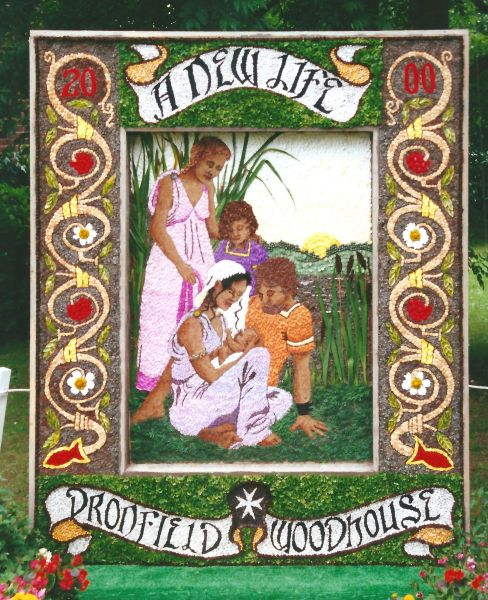 Dronfield Woodhouse 2000 - Carr Lane Well Dressing