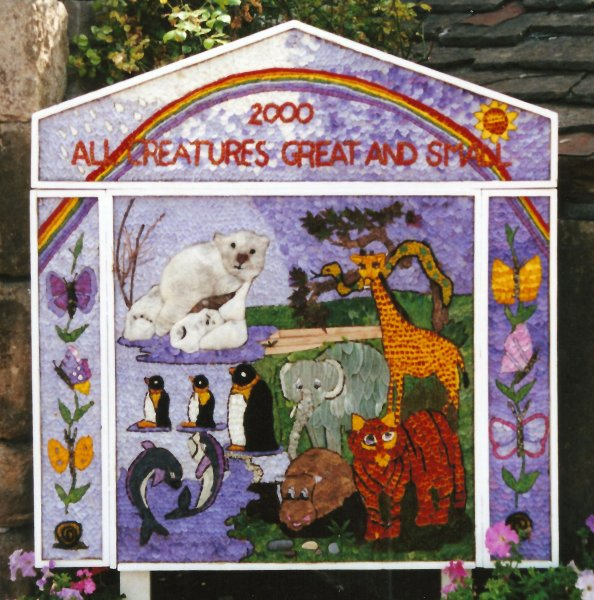 Bradwell 2000 - Children's Well Dressing