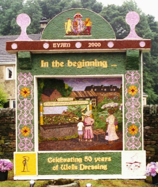 Eyam 2000 - Town End Well Dressing