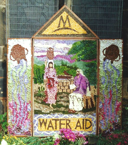 Wath upon Dearne 2000 - All Saints Church Well Dressing