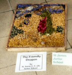 St James' Junior School Years 5 & 6 Well Dressing (1)