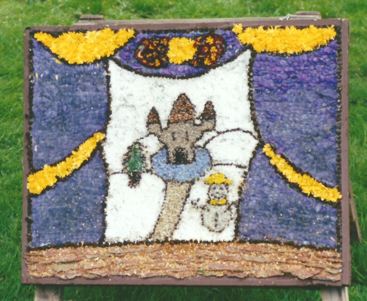 Etwall 2001 - Additional Well Dressing