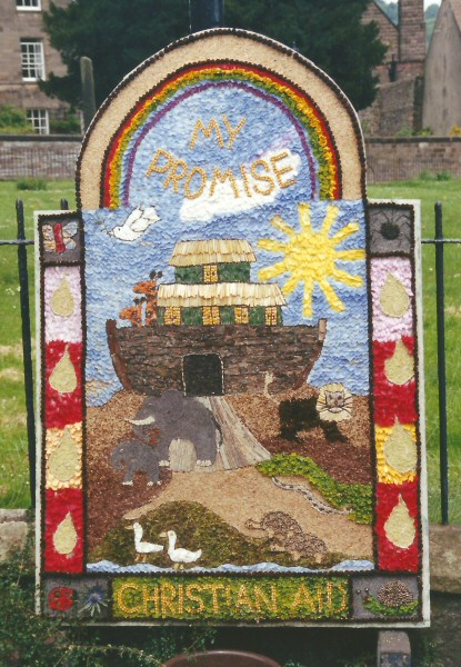 Wirksworth 2001 - Christian Aid Well Dressing