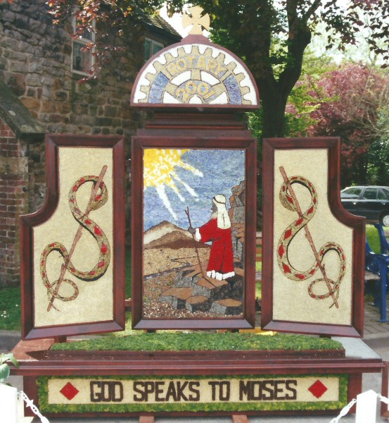 Wirksworth 2001 - Rotary Club Well Dressing
