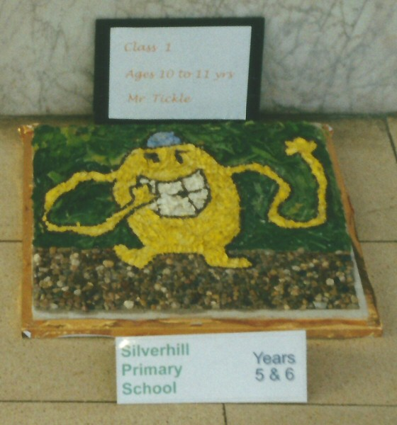 Derby 2001 - Silverhill Primary School Years 5 & 6 Well Dressing (5)