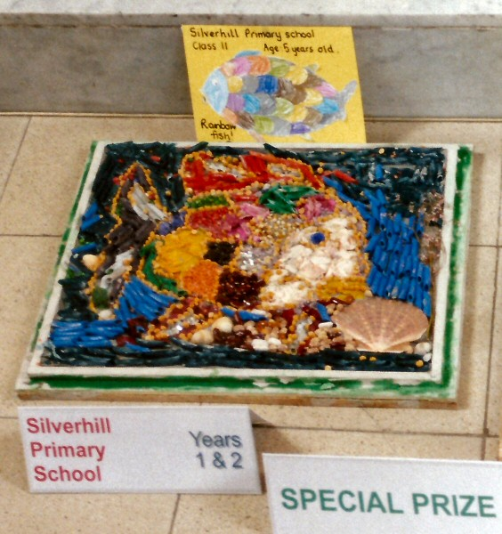 Derby 2001 - Silverhill Primary School Years 1 & 2 Well Dressing (1)