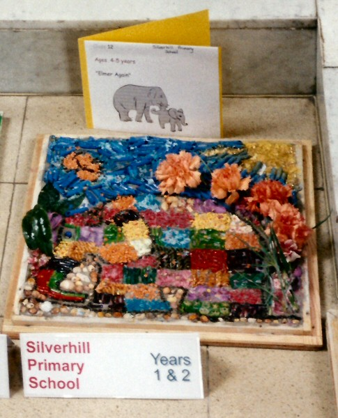 Derby 2001 - Silverhill Primary School Years 1 & 2 Well Dressing (2)