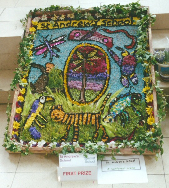 Derby 2001 - St Andrew's Special School Well Dressing