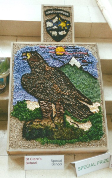 Derby 2001 - St Clare's Special School Well Dressing