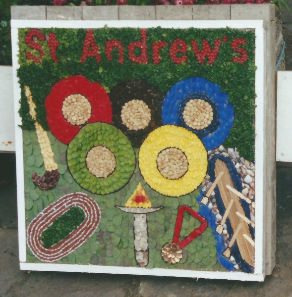 St Andrew's Young Church Well Dressing