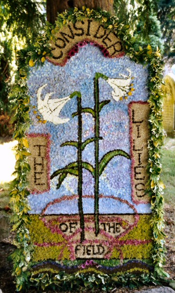 West Hallam 2001 - St Wilfrid's Church Well Dressing