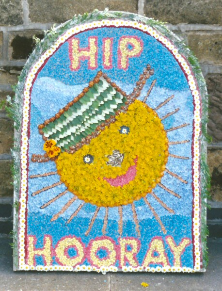 West Hallam 2001 - Community Pre-School Well Dressing