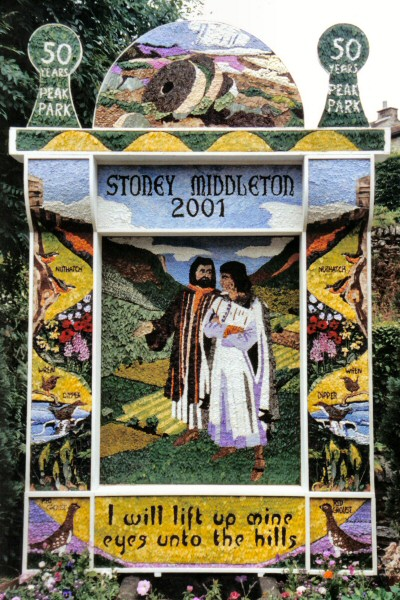Stoney Middleton 2001 - Main Well Dressing