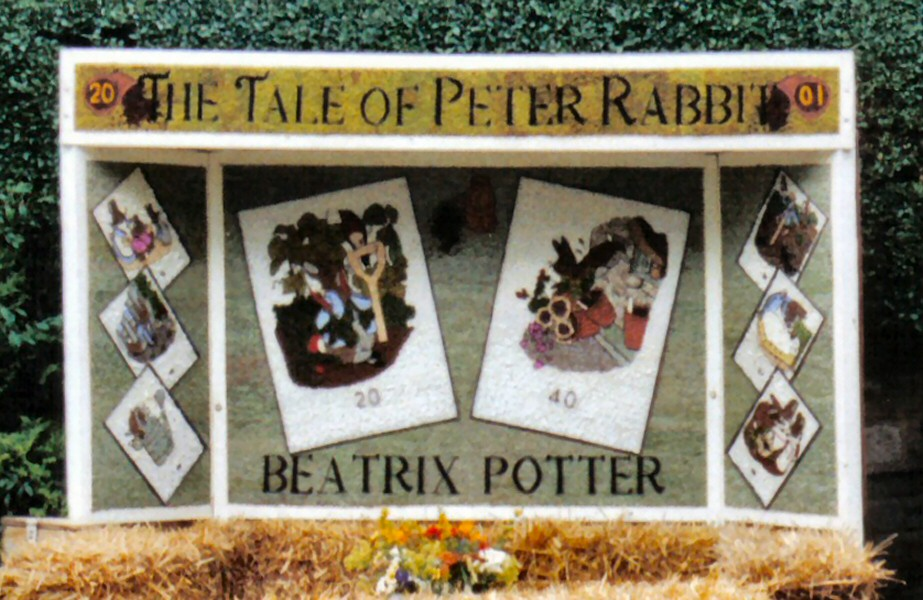 Millthorpe 2001 - Village Well Dressing