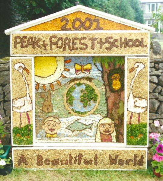 Peak Forest 2001 - Old Dam Well Dressing