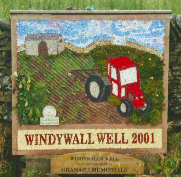 Chapel-en-le-Frith 2001 - Windywall Well
