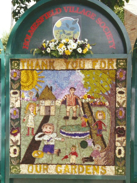 Holmesfield 2001 - Children's Well Dressing