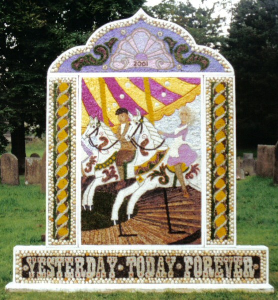 Taddington 2001 - St Michael's Church Well Dressing