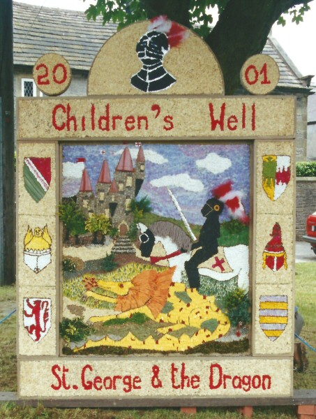 Litton 2001 - Children's Well Dressing