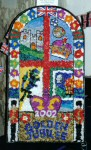 Chapel-en-le-Frith Primary School Well Dressing
