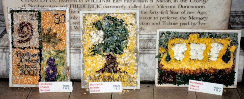 Derby 2002 - Hardwick Infants School Years 1 & 2 Well Dressings (1 - 3)