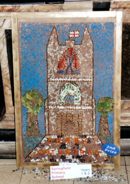 Derby 2002 - Springfield Primary School Years 1 & 2 Well Dressing (1)