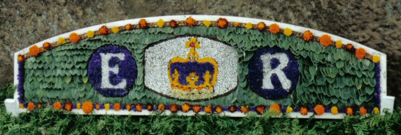 Whaley Bridge 2002 - Additional Well Dressing at Canal Basin (Queen's Golden Jubilee)