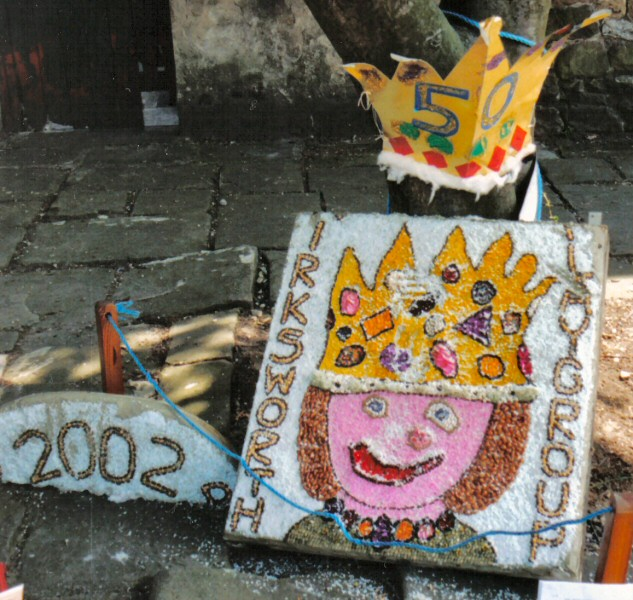 Wirksworth 2002 - Playgroup Well Dressing