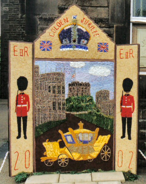Chapel-en-le-Frith 2002 - Town Well Dressing