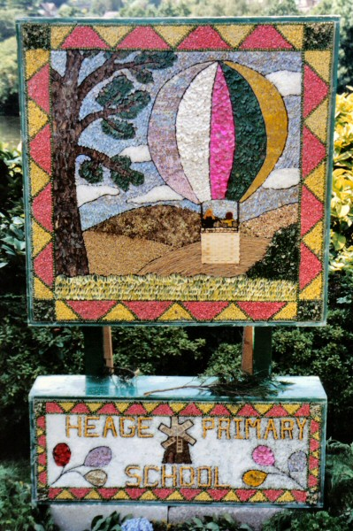 Belper 2002 - Heage Primary School Well Dressing