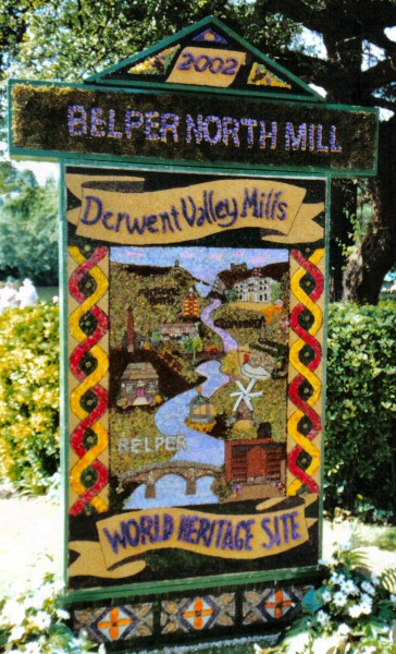 Belper 2002 - North Mill Well Dressing