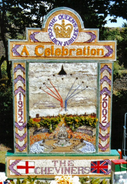 Belper 2002 - The Cheviners' Well Dressing